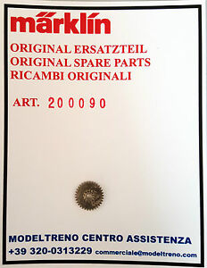 EX 20008 MARKLIN  20009-200090 INGRANAGGIO UNTERES BEISATZRAD METALL