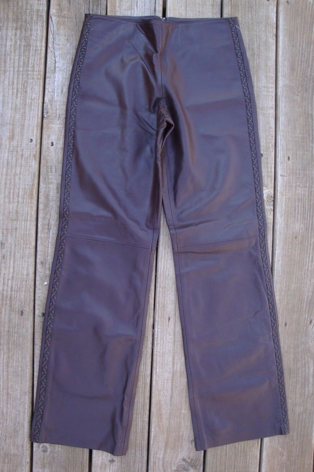 Isabel Brown  leather size 6 pants. 31 inch waist. In excellent shape.