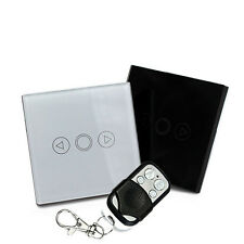 EU Standard 1 Gang Wireless Remote Control light Dimmer Touch Switch