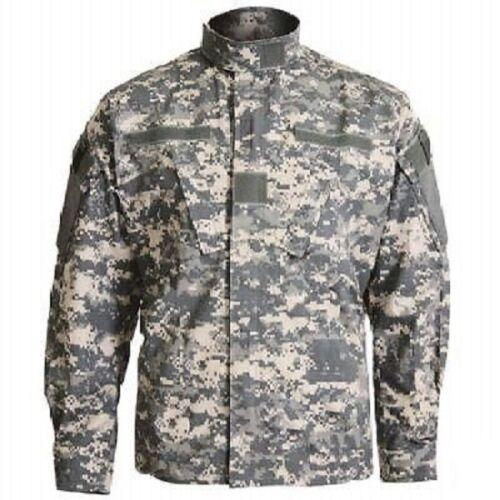 Bekleidung US ACU AT Digital Feldjacke Army UCP Digi camo Rip Stop coat Jacke M Medium