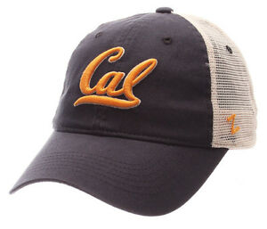 CALIFORNIA-CAL-BEARS-NCAA-SLOUCH-TRUCKER-UNSTRUCTURED-SNAPBACK-Z-CAP-HAT-NWT
