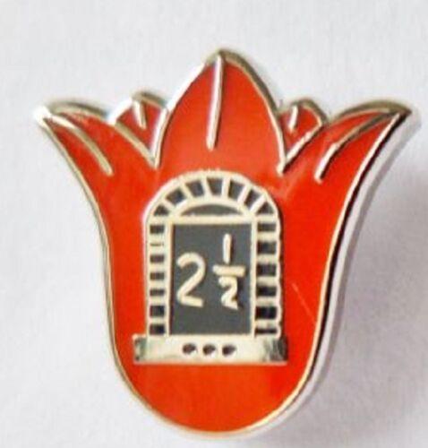 small discreet orange order 2 1//2in orange lilly lapel badge loyalist ulster