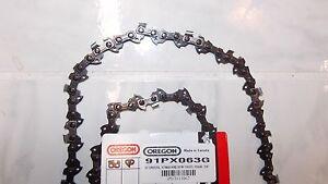 "1 91PX063G Oregon 18"" S63 chainsaw saw chain 3/8 LP .050 63 DL 383333"