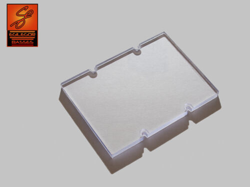 Klar Transparent Ramp For Jazz Bass Without Radius 72mm oder 73mm Abstand