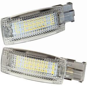 2-X-LED-Maquillage-Spiegelbeleuchtung-pour-Skoda-Superb-3U-3T-3V-7404