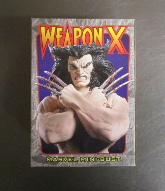 Wolverine Weapon X Mini Bust BOWEN DESIGNS Limited Edition /9000 GV
