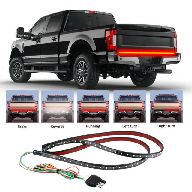 Tail /& Reverse Light Ford F-150 F-250 F-350 Super-Duty 49 LED Tailgate Light Bar Signal Relay Box for Ford Pick-Up Trucks with Tow Package /& BLIS Blind Spot System Sequential Turn Signal