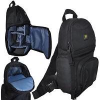 Photo Camera Sling Backpack Bag For Dslr Cameras Canon Nikon Sony Pentax