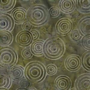 Makower Island Batiks 100/% Cotton Patchwork Quilt Batik Fabric 6//561 per 0.5m