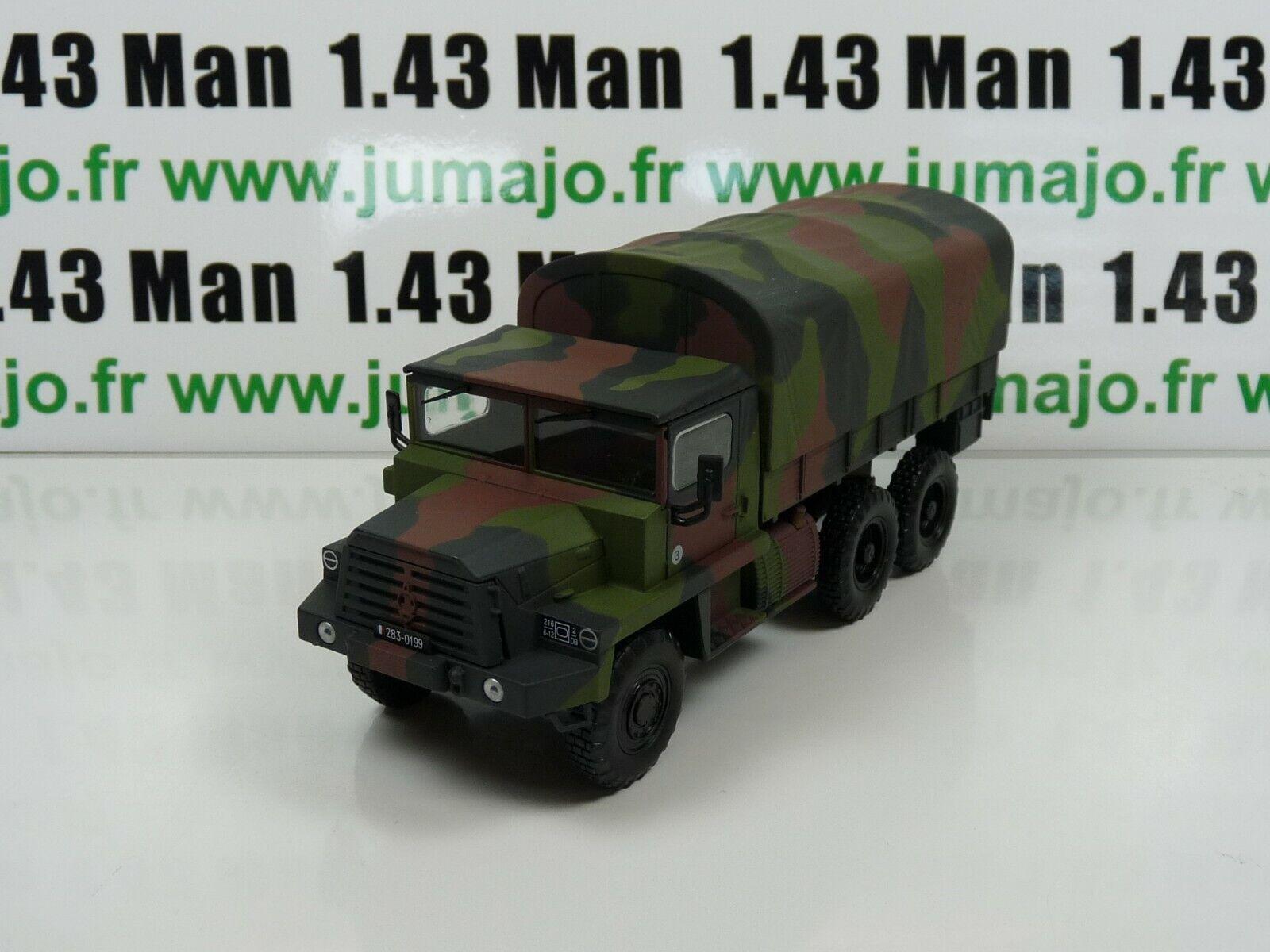 VMF2B militaires Français DIREKT IXO 1 43  BERLIET GBC 8KT transport troupes