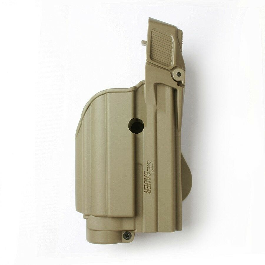 Desert Tan Táctico Funda Pistola Para Tactical light laser nivel II Sig Sauer 227