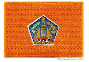 Details About Bali Flag Embroidered Iron On Patch Indonesia Emblem Applique Travel Souvenir