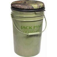 Jack Pyke Swivel Bucket Seat - Great Hide Seat Camo Shooting Pigeon Crow