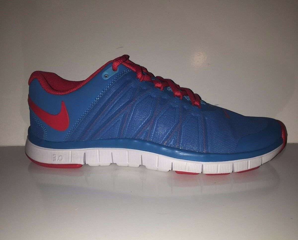 NEW Nike Men's Free Trainer 3.0 Vivid Blue Training Sneakers Shoes sz 6.5