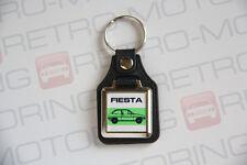 Ford Fiesta Mk1 Keyring - Leatherette retro classic car keyfob