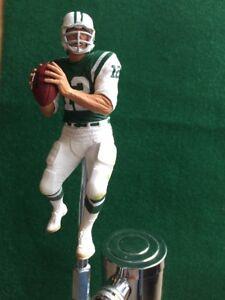 New-York-Jets-TAP-HANDLE-Joe-Namath-Beer-Keg-Kegerator-Football-NFL-Green-Jersey