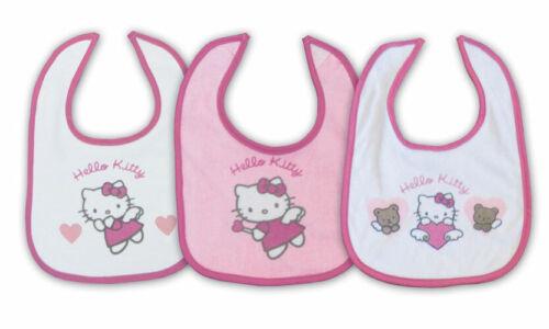"* Nouveau 3er-set Hello Kitty Bavoir /""Louise/"" Sanrio"