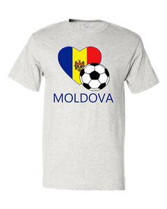 Moldovan-Soccer-Moldova-Futbol-Football-Unisex-Cotton-T-Shirt-Tee-Top