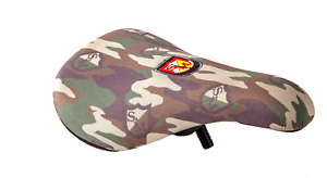 S/&M BIKES SLIM SHIELD WRAP CAMO PIVOTAL BMX SEAT BIKES camouflage