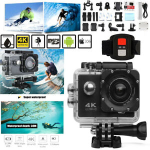 Sports-Camera-With-Remote-Control-Outdoos-Action-Camcorder-DVR-Underwater-30M