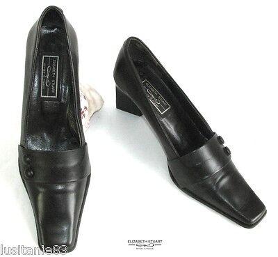 Acquista A Buon Mercato Elizabeth Stuart - Chaussures Talons 6 Cm Tout Cuir Marron 36 - Tres Bon Etat