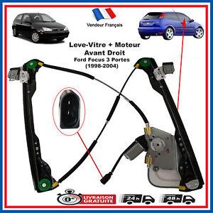 Lève Vitre 2//3 porte pour Ford Focus MK1 droite avant conducteur sans moteur