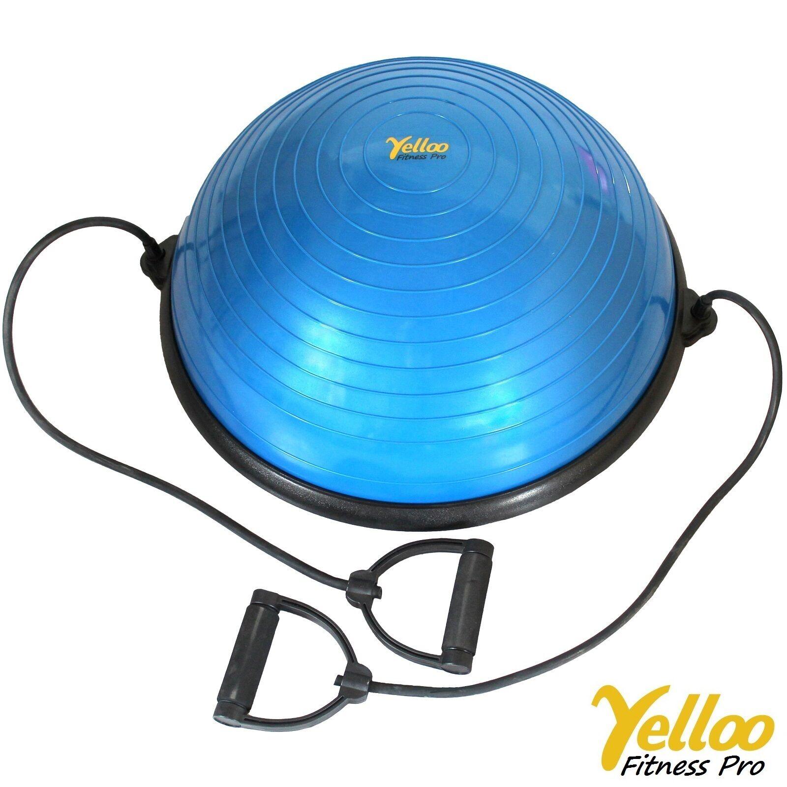 Palla BALL Per PILATES Ginnastica Equilibrio Allenamento YOGA Fitness BLU