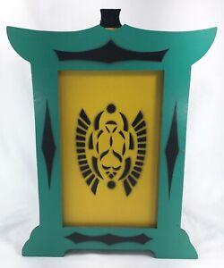Antique-Vintage-MAGIC-Wooden-BOX-Vanish-Disappear-Trick-Mak-Owen-Abbott-Magician