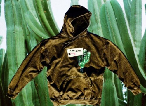 Cactus plant flea market Brown FanClub hooded Swea
