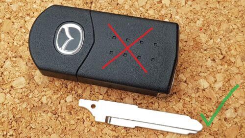 Mazda 2-3-4-5-6 BT-50 CX-7 MX-5 RX-8 Hoja de clave flip remoto Corte a la foto de código