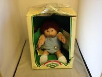 Vtg 1985 Cabbage Patch Kids Doll Coleco 3900 Brown Eyed Boy Willie Norris