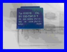 Print transformateur 230v 50/60hz 9v 2,3va type bv030-7341.0 1 pièces