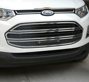 Image Is Loading Chrome Mesh Grill Bumper Surrounding Garnish Trim For