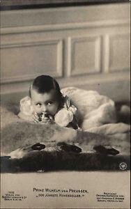 Adel-Monarchie-1910-15-Prinz-Wilhelm-von-Preussen-als-Kind-Baby-Hohenzoller