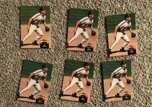 JIM-THOME-BASEBALL-ROOKIE-CARD-LOT-6X-TOPPS-STADIUM-CLUB-CLEVELAND-INDIANS-WOW
