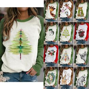 Women-Long-Sleeve-Sweater-Ladies-Pocket-Baggy-Jumper-Pullover-Tops-Winter-Blouse