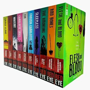 Red-Eye-Series-Charlotte-Says-Frozen-Charlotte-Sleepless-10-Books-Collection-Set