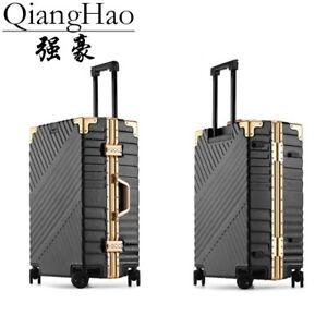 0b0dd9ef6 PC material Carry on Spinner Wheels Travel Luggage TSA lock 20 24 26 ...