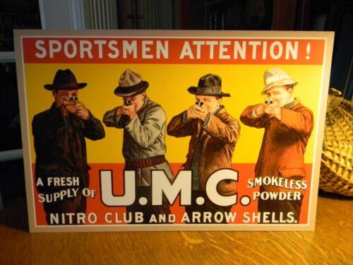 REPRO UMC Sportsmen Attention Standing Advertising Die Cut