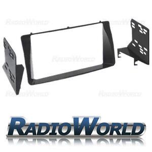 Toyota-Corolla-Double-Panel-Plate-Fascia-Facia-Surround-Adaptor-Car-Stereo-Radio