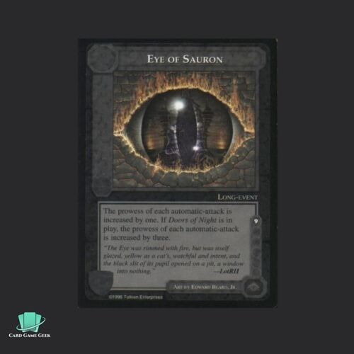 Eye of Sauron The Wizards Limited Middle-Earth CCG MECCG METW