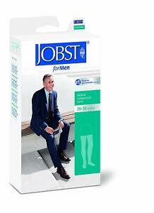 bb9cfa0430 Jobst for Men 20-30 mmHg Thigh High Compression Stockings with ...