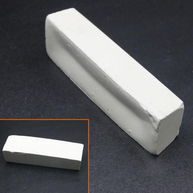 White Rouge Abrasive Polishing Paste Buffing Compound Metal Grinding 110*33*23MM