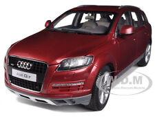 2009 AUDI Q7 GARNET RED 1/18 DIECAST CAR MODEL BY KYOSHO 09222