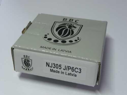 Zylinderrollenlager NJ305-J-P6-C3 ..... ** NEU ** 25x62x17mm ..... ** BBC-R