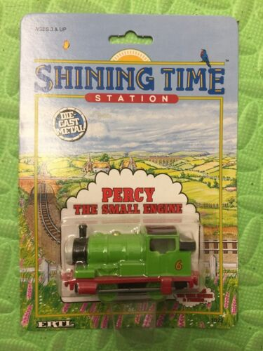 Thomas the Tank Engine Percy The Small Engine Ertl New in Package metal die cast