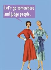 KISS me quick card: lets go somewhere far and judge people(BC23) - new in cell