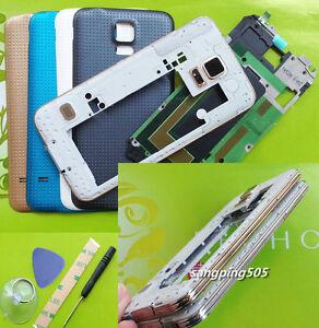 Full-Housing-Bezel-Frame-Cover-Case-For-Samsung-Galaxy-S5-I9600-G900-G900F