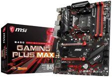 SCHEDA MADRE CORE BOOST MSI B450 GAMING PLUS MAX TURBO M.2 AM4 DDR4 USB 3.2