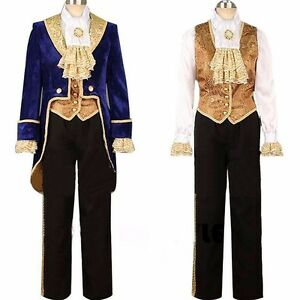 Image Is Loading Customized Beauty And The Beast Prince Adam Costume